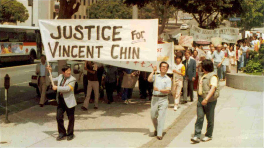 Vincent Chin Protest