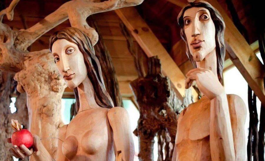 Adam And Eve In Noahs Ark