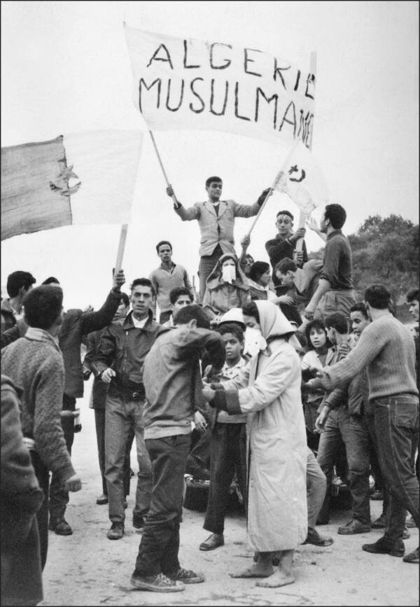 Algerians Protesting For Independence