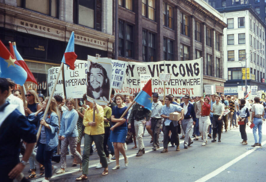 Anti Vietnam March