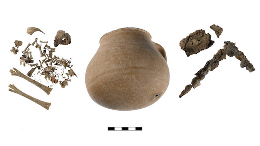 Greek Curse Jar Nail And Bones