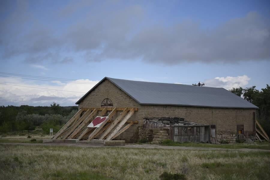 Barn In Colorado