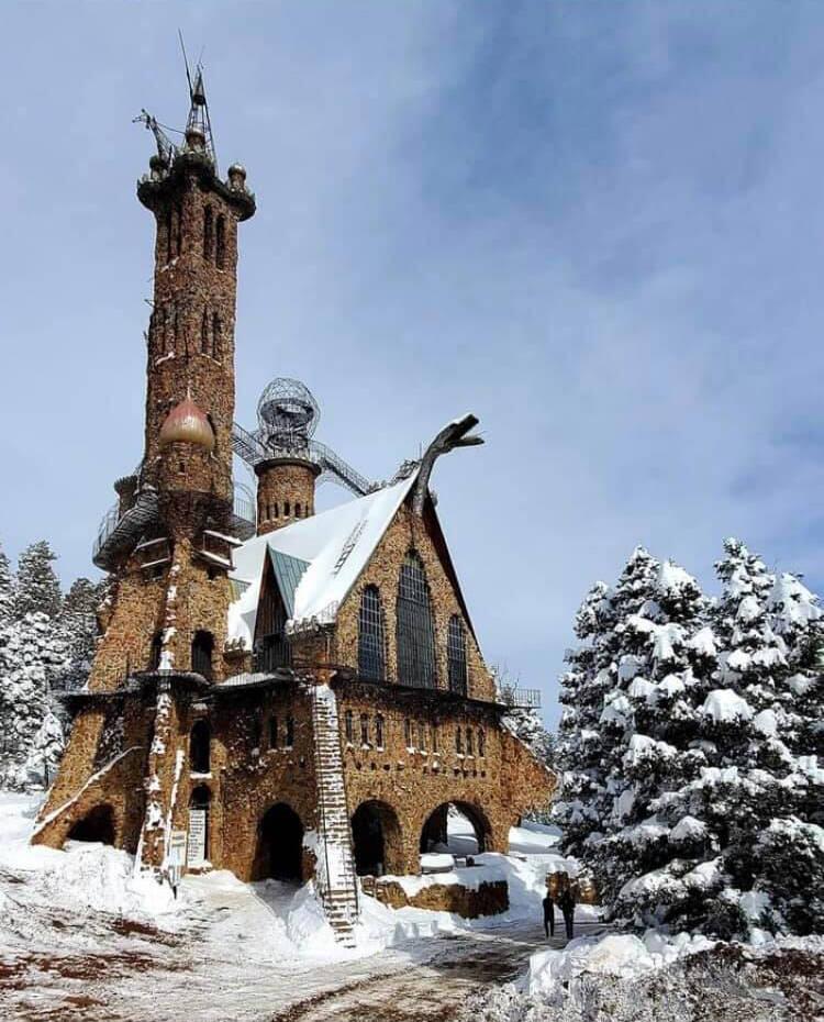 Bishop Castle Wintertime Photo