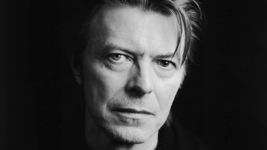 Black And White David Bowie Photograph