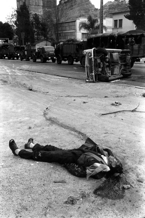 French Algerian War Victim