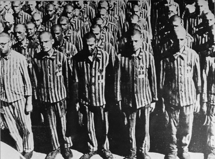 Dutch Jews At Buchenwald
