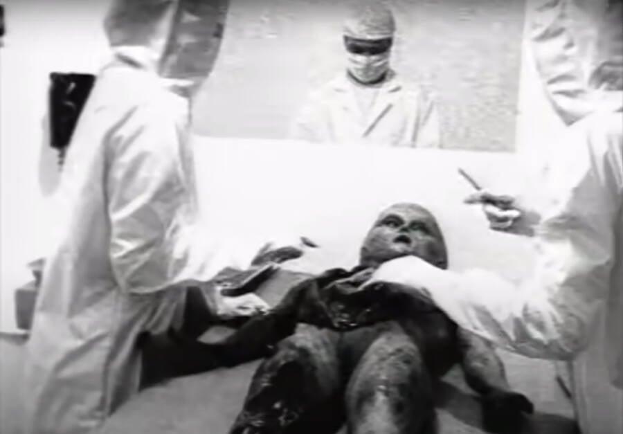 Footage Of Alien Autopsy