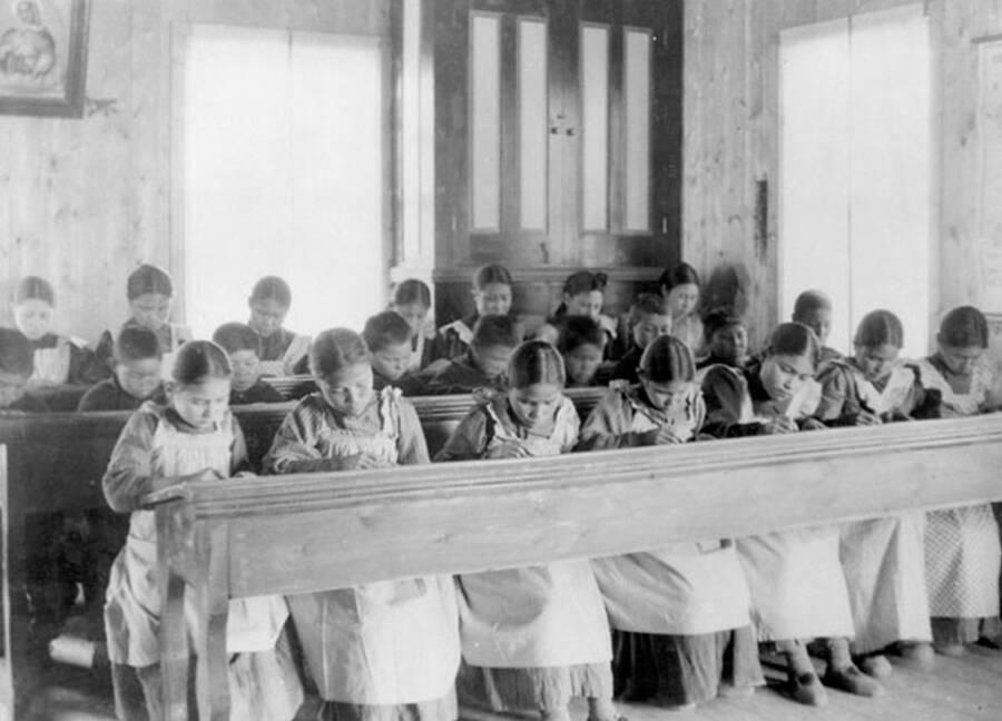Forced Schooling Of Indigenous Children