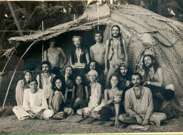 Hippies In A Hut