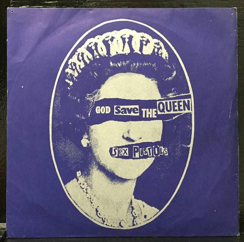 British Punk God Save The Queen
