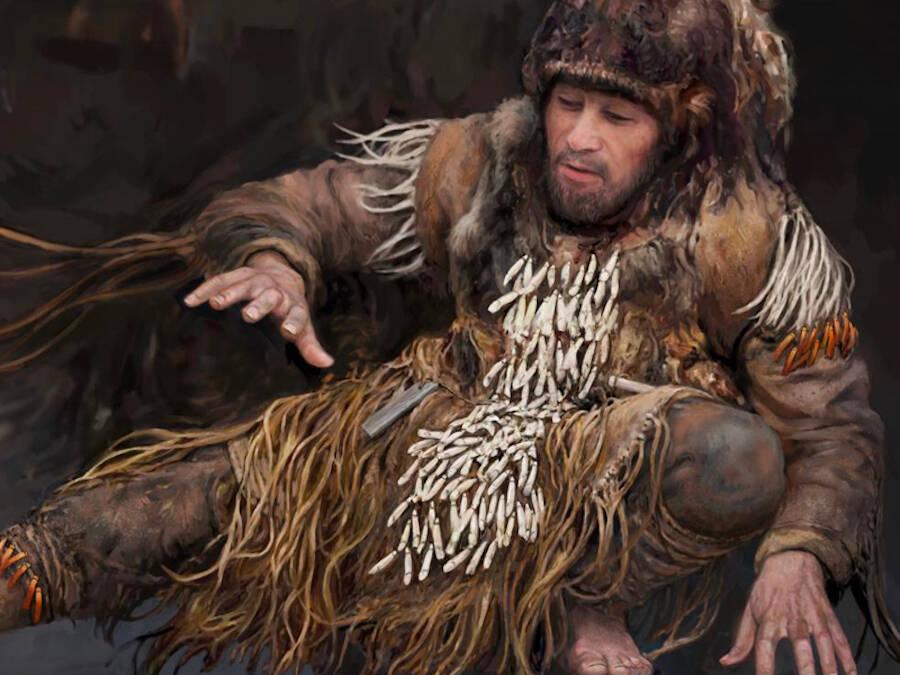 Stone Age Dancer With Elk Teeth