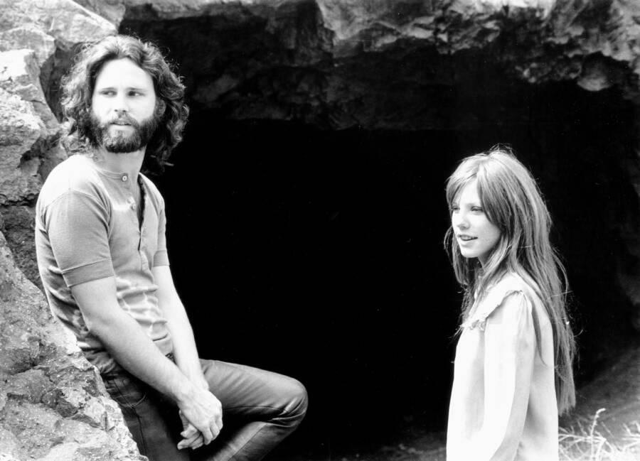 Jim Morrisons Girlfriend