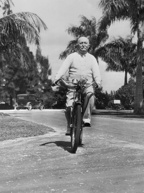 Getty Images Kellogg in 1938, aged 86.