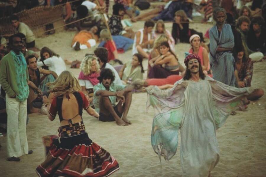 Man In A Beach Dress