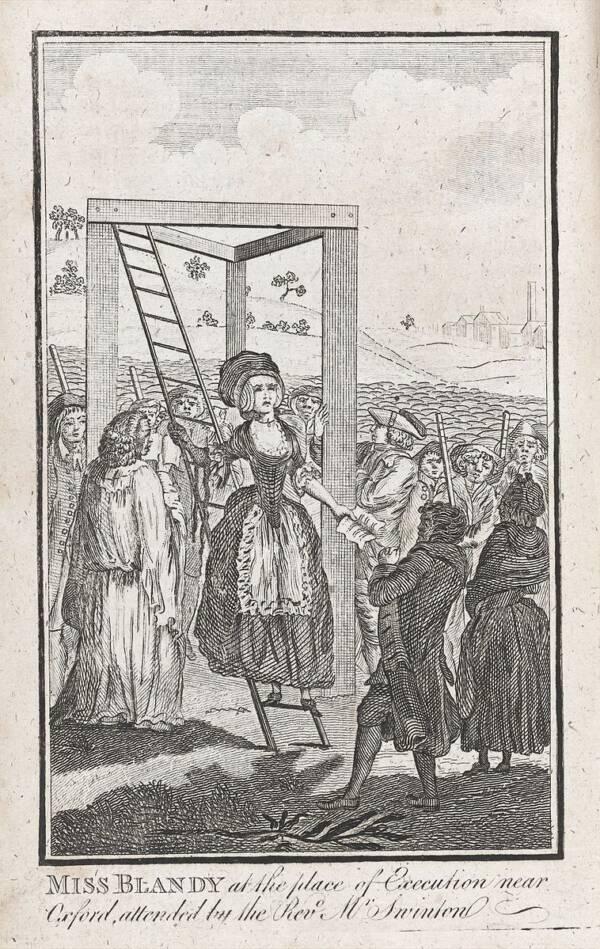 Mary Blandy Execution