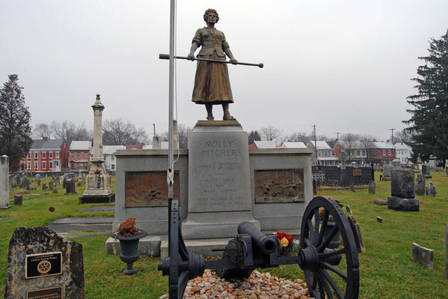 Mary Ludwig Hays Grave