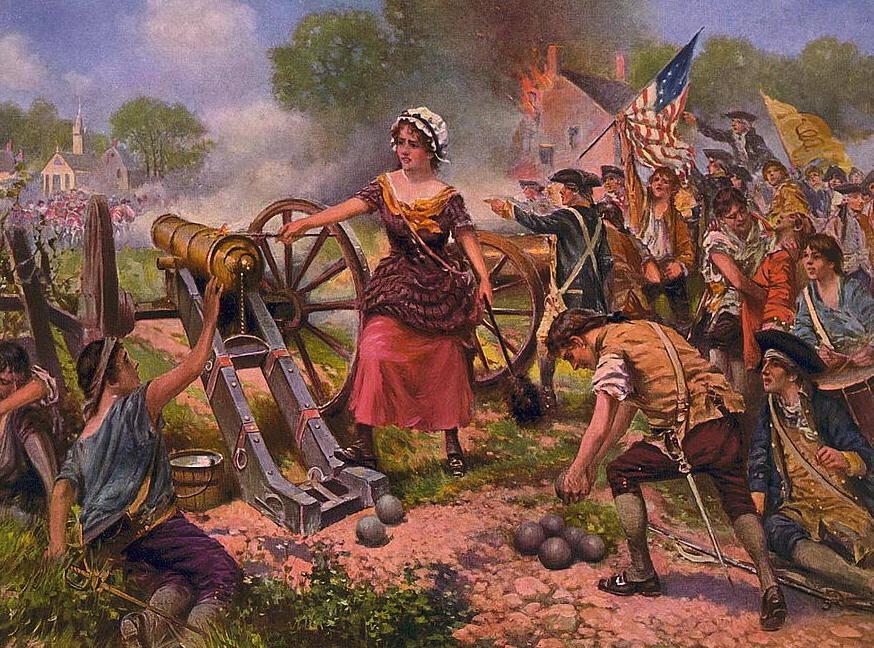 The Legend Of Molly Pitcher, A Revolutionary War Heroine