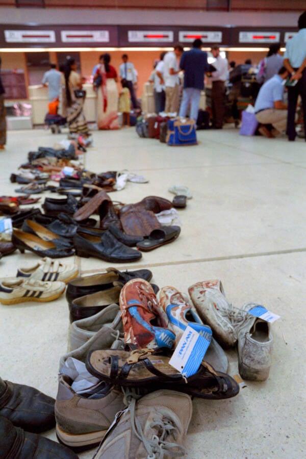 Pan Am Flight 73 Shoes