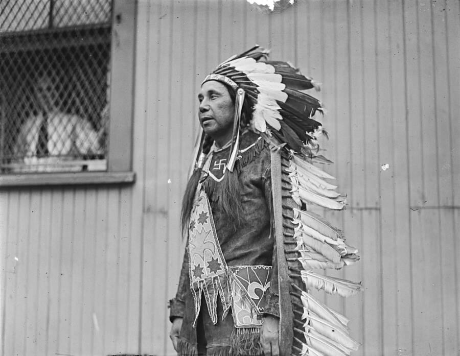 Passamaquoddy Chief In 1921