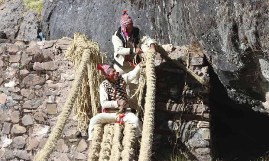 Peruvians At Work