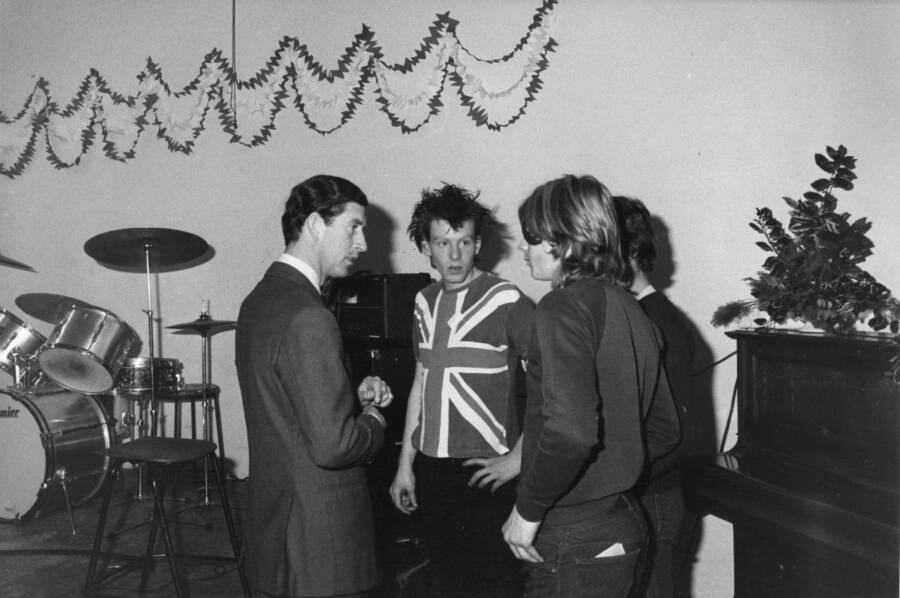Prince Charles Meets Punks