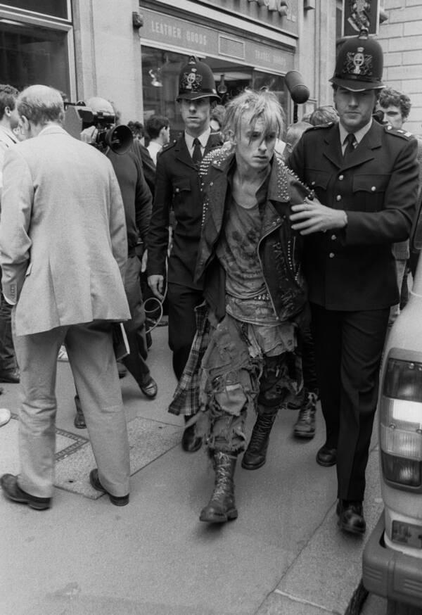 Punk Being Arrested