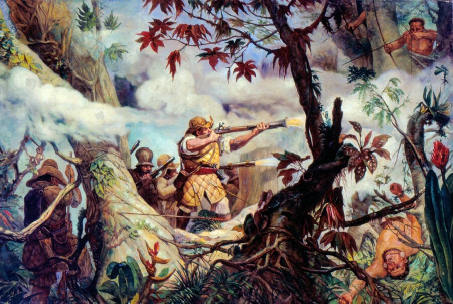 Attack On Quilombo Dos Palmares