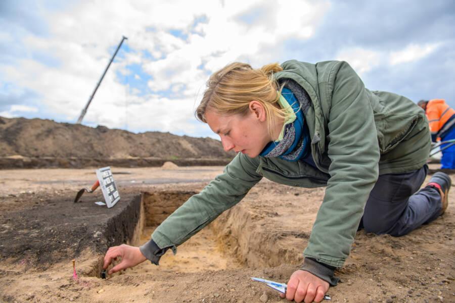 Ringheiligtum Pommelte Excavations