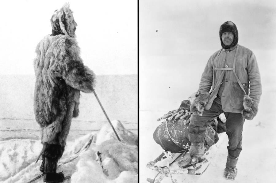 Roald Amundsen And Robert Falcon Scott