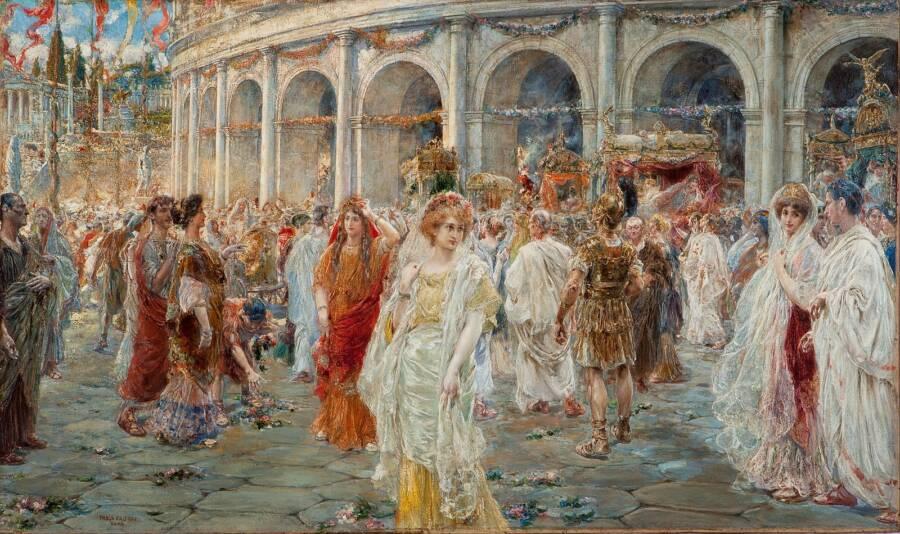 Rome Colosseum Depiction