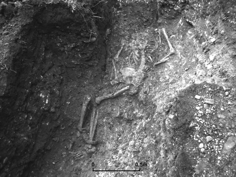 Shackled Skeleton From Roman Britain