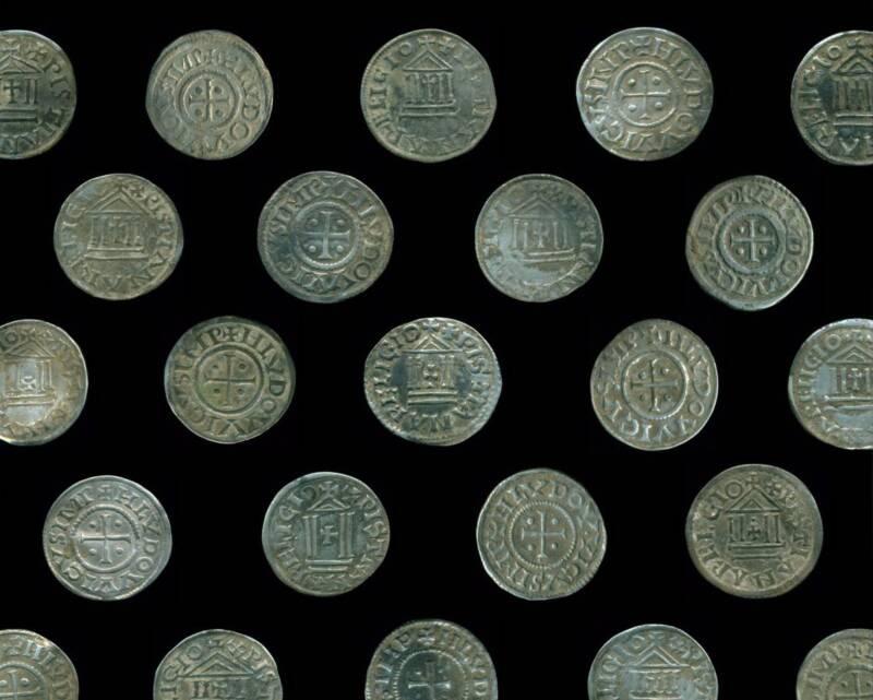 Silver Biskupiec Coins Side By Side