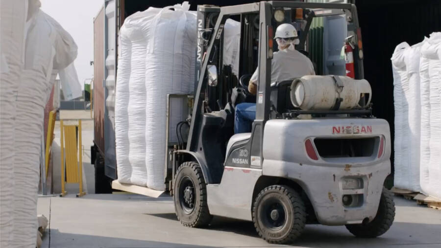 Touchstone Pistachio Company Forklift