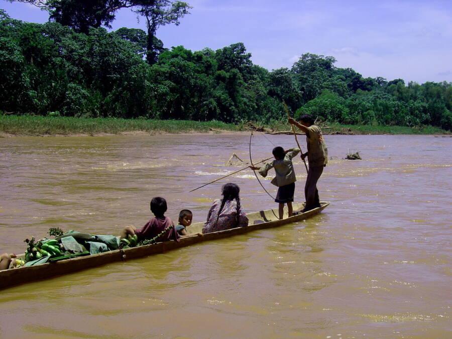 Tsimané Fishing