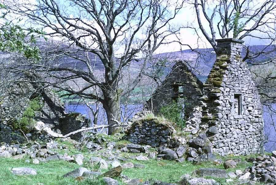 Village Of Lawers Ruins