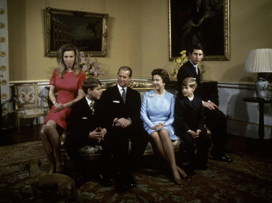 Windsors Buckingham Palace 1972
