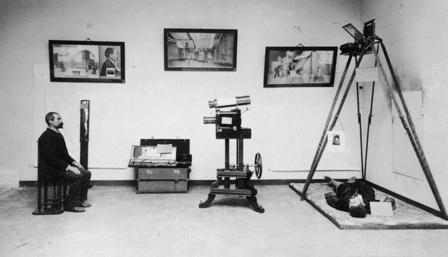Alphonse Bertillon At World Exhibition
