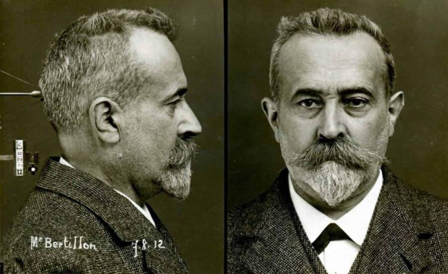 Alphonse Bertillon Mug Shot