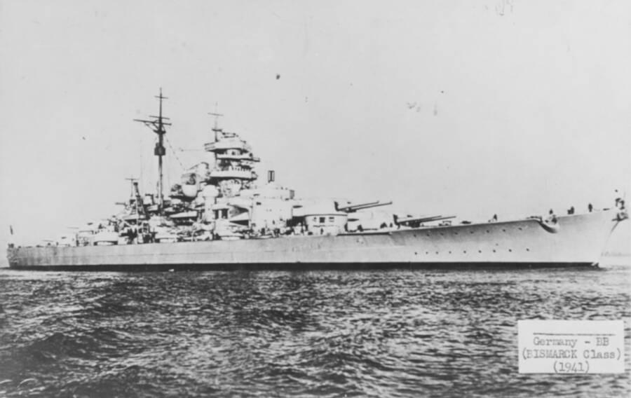 Battleship Bismarck US Naval Historical Center
