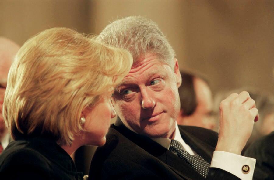 Bill Clinton Turning Toward Hillary Clinton