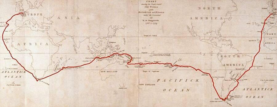Bougainville Circumnavigation