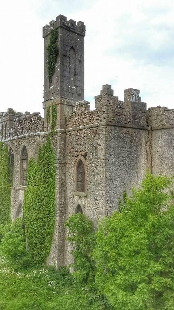 Castle Wall Of Mcdermotts Castle