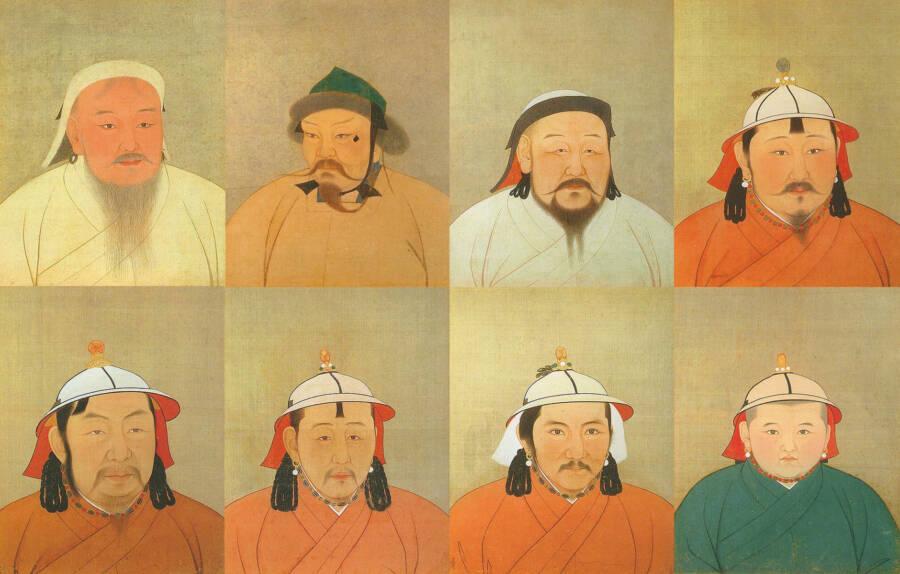 Descendants Following Genghis Khan Death