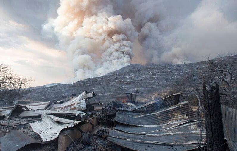 El Dorado Fire Aftermath