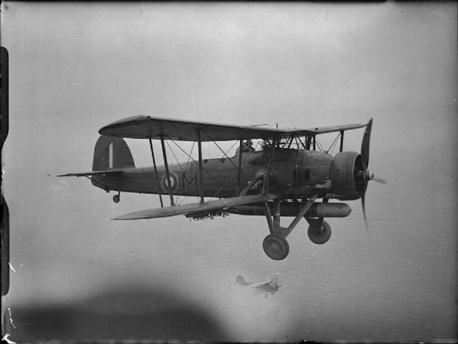 Fairey Swordfish Biplane Torpedo