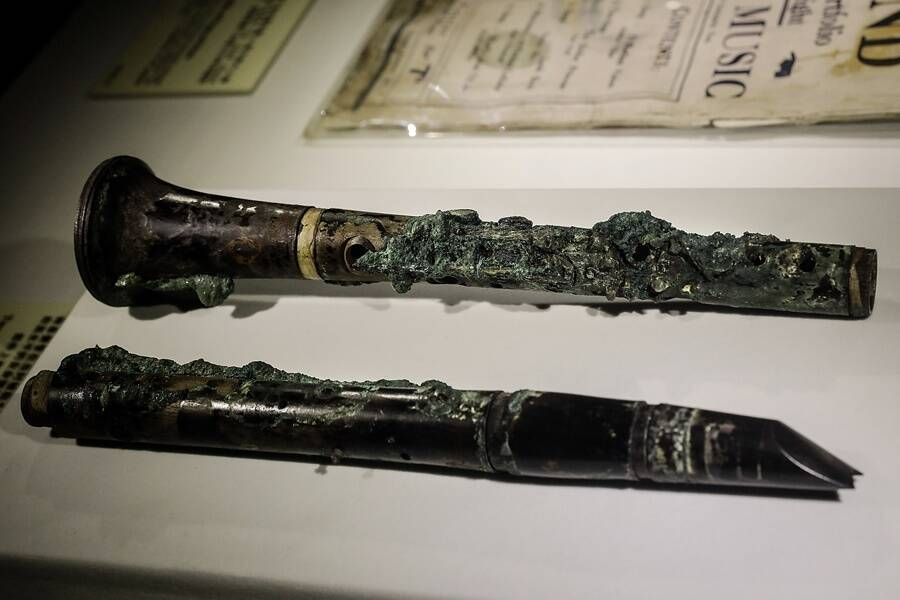 Flute From Titanic Wreck
