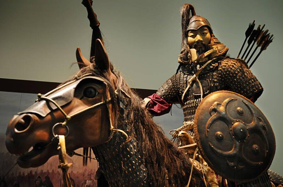 Genghis Khan Display