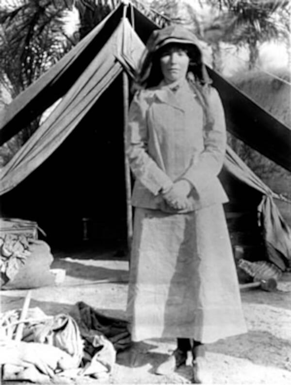 Portrait Of Female Lawrence Of Arabia