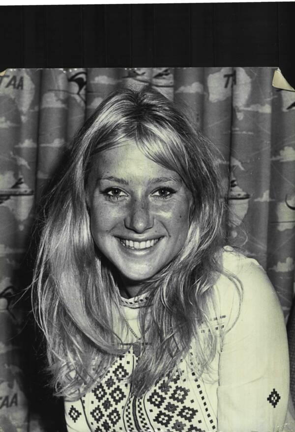 Helen Mirren Sweater Smiling