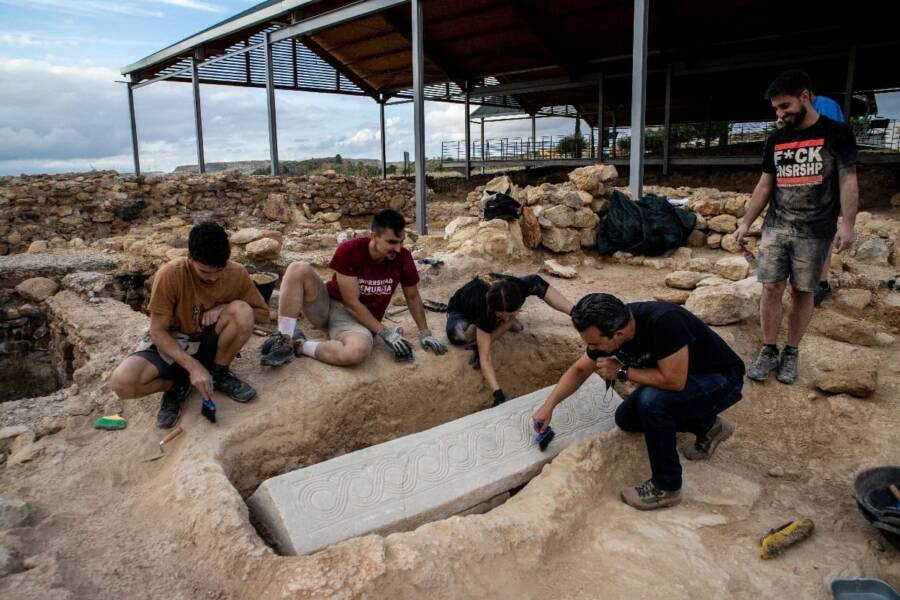 Investigating The Sarcophagus